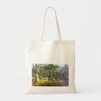 A view of Elephants Tote Bag