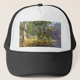 A view of Elephants Trucker Hat