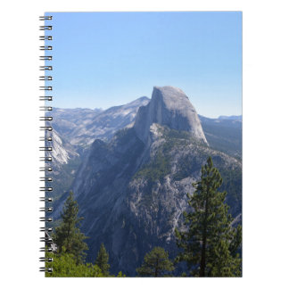 A view of Half Dome, Yosemite Notebook