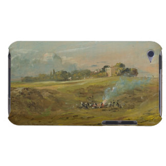 A View of Hampstead Heath with figures round a bo Barely There iPod Case