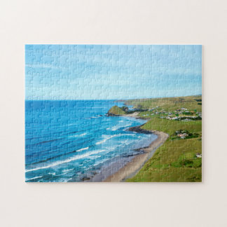A view of Hole in the Wall on the Wild Coast Jigsaw Puzzle
