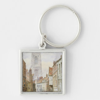 A View of Irongate, Derby Keychain