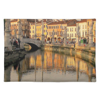 A View Of Italy Cloth Placemat