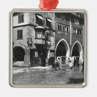 A view of Lindau, c.1910 Metal Ornament