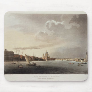 A View of London from the Thames, 1809 Mouse Pad