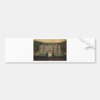 A View of Longleat by Jan Siberechts Bumper Sticker