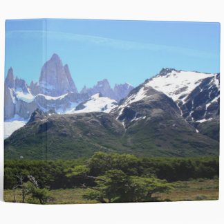 A View Of Mount Fitz Roy Binder