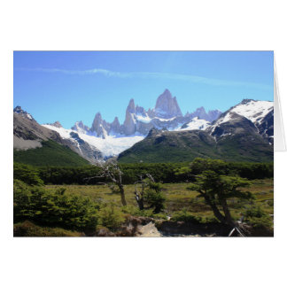 A View Of Mount Fitz Roy Card