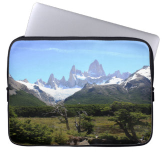 A View Of Mount Fitz Roy Computer Sleeve