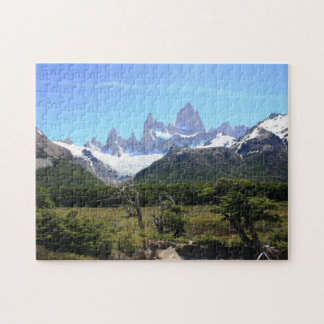 A View Of Mount Fitz Roy Jigsaw Puzzle
