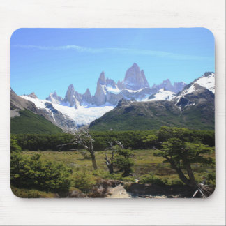 A View Of Mount Fitz Roy Mouse Pad