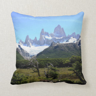 A View Of Mount Fitz Roy Pillow