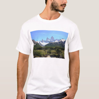 A View Of Mount Fitz Roy T-Shirt