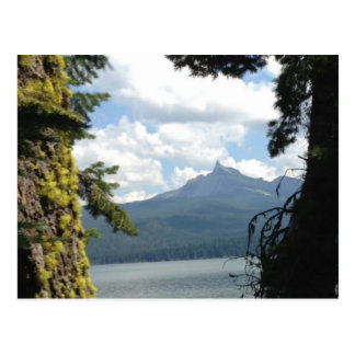 A view of Mt Thielsen across Diamond Lake Post Cards