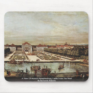 A View Of Munich Nymphenburg Castle Mouse Pad