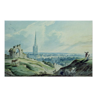 A View of Norwich, from Mouseshold Hill Poster