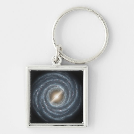 A view of our own Milky Way Galaxy Keychain