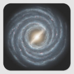 A view of our own Milky Way Galaxy Sticker
