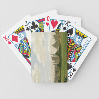 A View of Oxford (oil on millboard) Bicycle Playing Cards