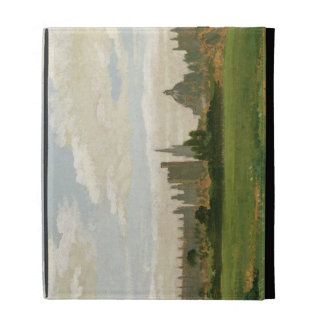 A View of Oxford (oil on millboard) iPad Cases