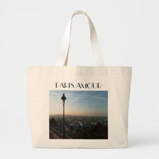 A View of Paris Jumbo Tote Bag