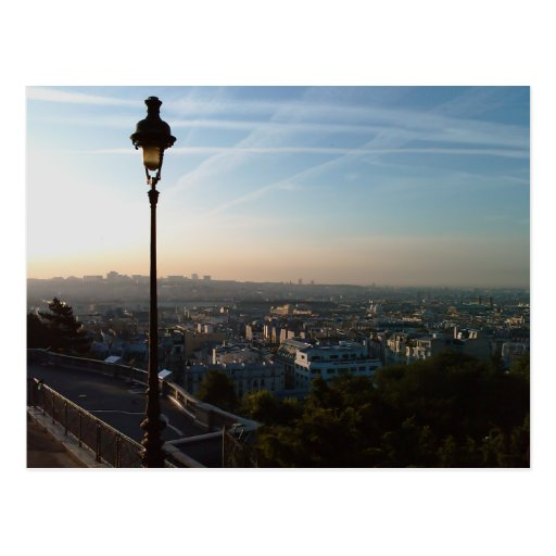 A View of Paris Postcard