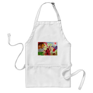 A View of Planet Earth Adult Apron