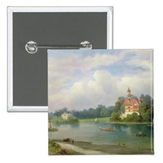 A View of Pope s House Pinback Buttons