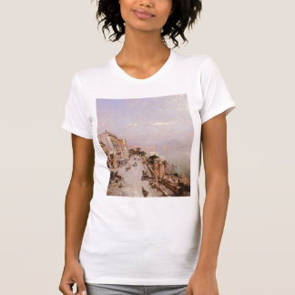 A View of Posilippo, Naples by Franz Unterberger Tshirt