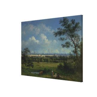 A View of Regent's Park Canvas Print
