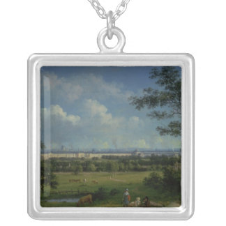 A View of Regent's Park Silver Plated Necklace
