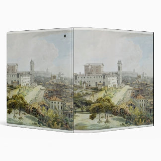 A View of Rome taken from the Pincio, 1776 (w/c ov Binder