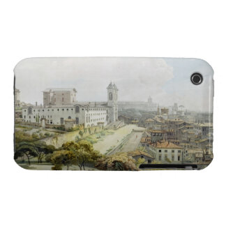 A View of Rome taken from the Pincio, 1776 (w/c ov iPhone 3 Case-Mate Case