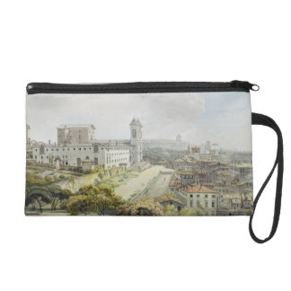 A View of Rome taken from the Pincio, 1776 (w/c ov Wristlet