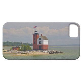A view of Round Island Light Station. iPhone SE/5/5s Case