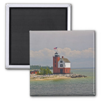 A view of Round Island Light Station. Magnet