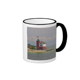 A view of Round Island Light Station. Mug