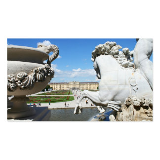 A view of Schonbrunn Palace in Vienna, Austria. Business Card