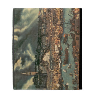 A View of Seville iPad Folio Cases