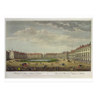 A View of St. James's Square, London, 1753 (hand c Postcards