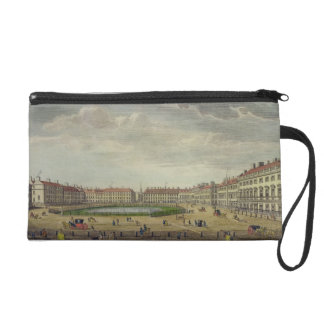 A View of St. James's Square, London, 1753 (hand c Wristlet Purse