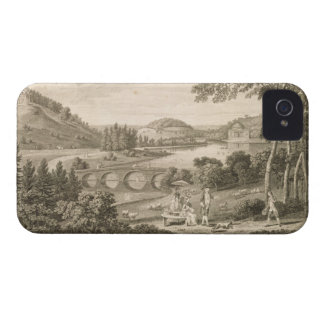 A view of Stour Head in Wiltshire (engraving) iPhone 4 Case-Mate Case