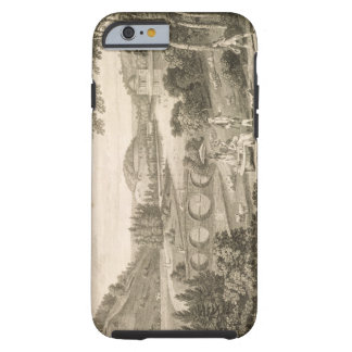 A view of Stour Head in Wiltshire (engraving) Tough iPhone 6 Case