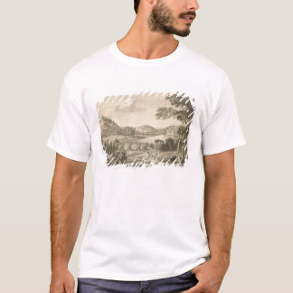 A view of Stour Head in Wiltshire (engraving) T-Shirt