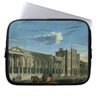 A View of the Bank of England, Threadneedle Street Laptop Computer Sleeve