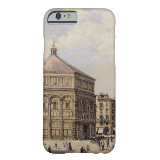 A View of the Baptistry in Florence (panel) iPhone 6 Case