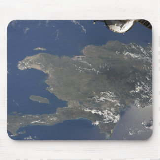 A view of the Caribbean island of Hispaniola Mouse Pad
