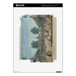 A View of the Chinese Pavilions and Boxes in Vauxh Decal For iPad 3