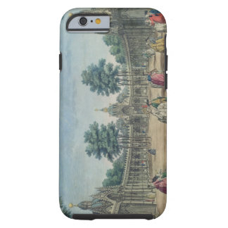 A View of the Chinese Pavilions and Boxes in Vauxh Tough iPhone 6 Case