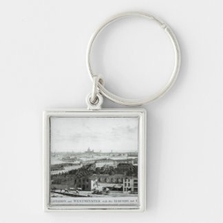 A View of the Cities of London and Westminster Key Chains